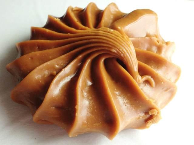 dulce de leche forma concha receta tradicional sabrosa