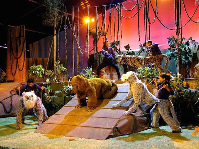 El Libro de la selva obras de teatro infantiles geniales