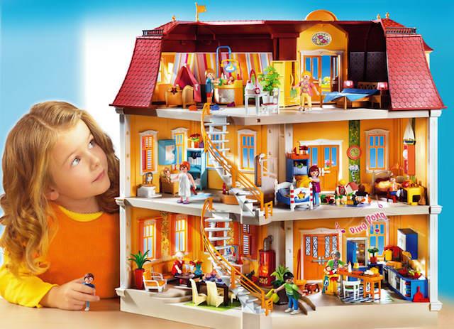 Playmobil niña regalo original clásico Navidad