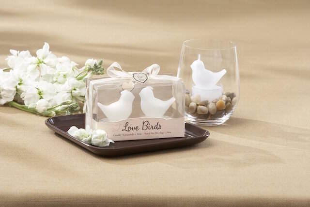 amor aves color blanco recuerdos boda