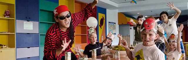 animador profesional salón de fiesta infantil