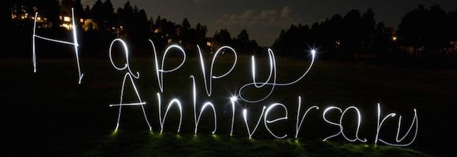 aniversario decoración de fiestas iluminación