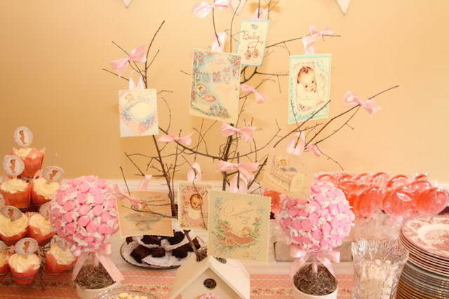 Vintage baby shower centerpiece hot girls wallpaper