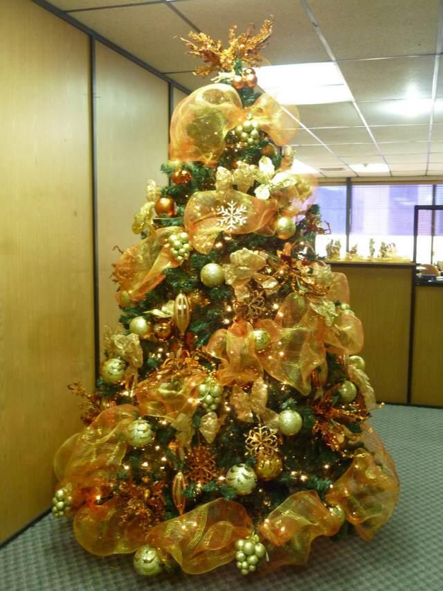 Ideas maravillosas para decoraci n de rboles de navidad - Arbol de navidad adornos ...