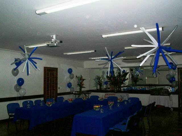 idea arreglos globos evento corporativo