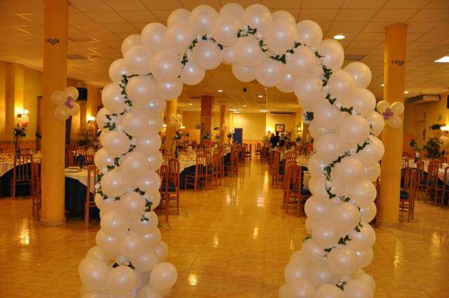 arreglos globos fiesta corporativa ideas