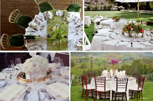 boda arreglos de mesa ideas originales decoracin