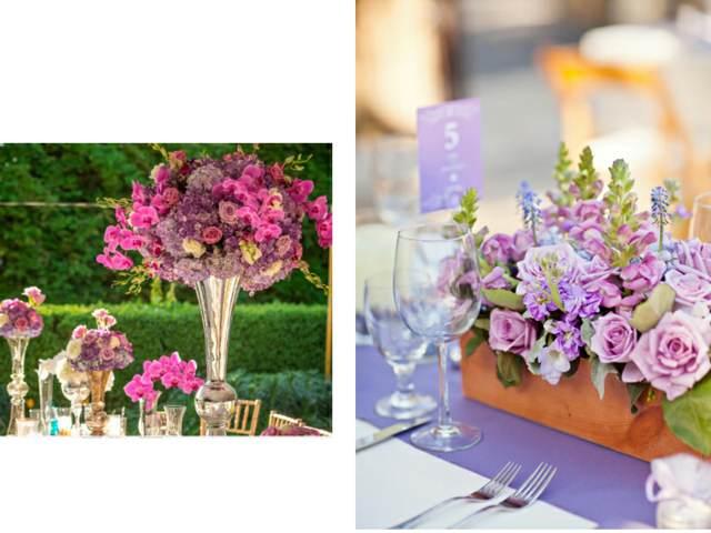 arreglos originales mesa boda flores ideas magníficas