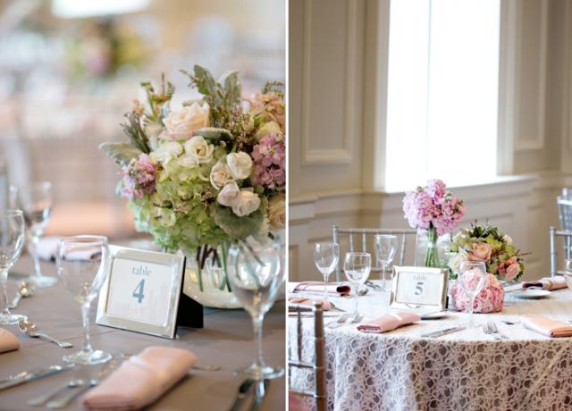 arreglos de mesa únicos flores decoración magnífica