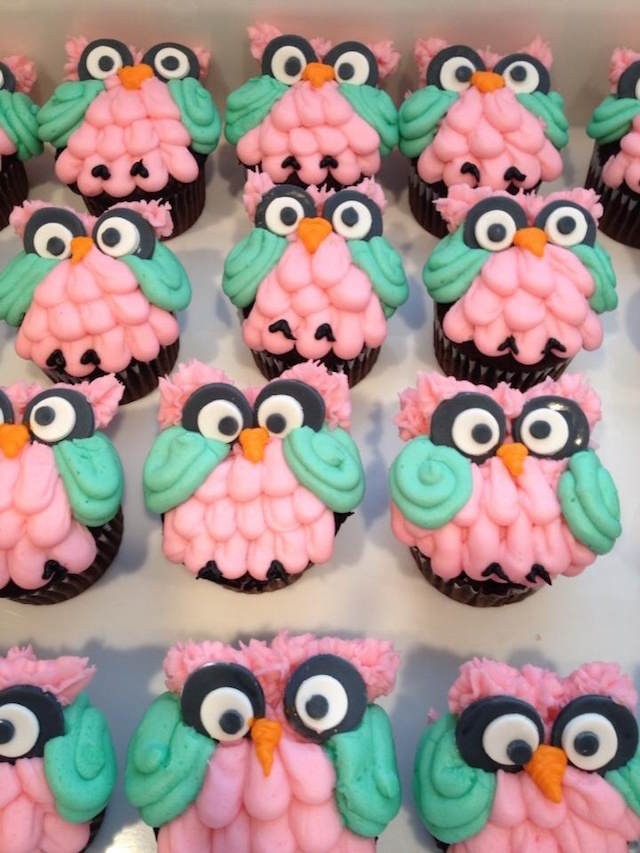 baby shower cupcakes buho alegre