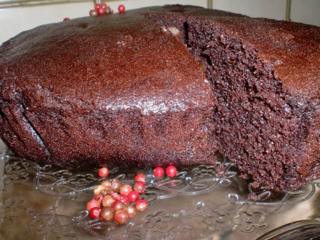 bizcocho de chocolate postres dulces sabrosos fiestas