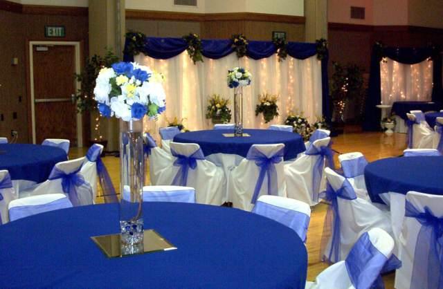 decoración preciosa boda ideas color azul