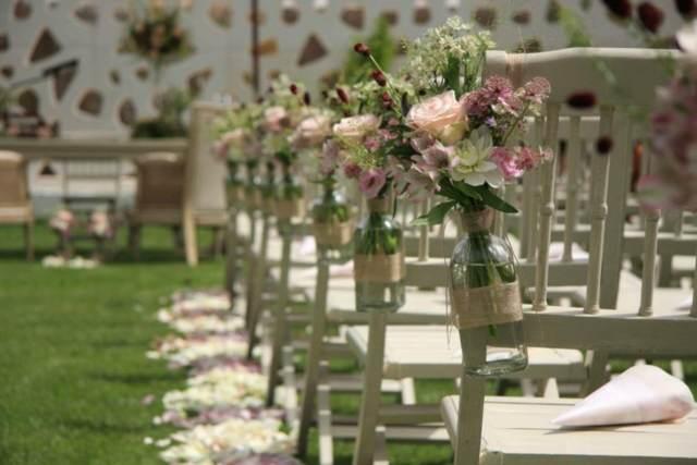 boda perfecta decoración maravillosa tendencias modernas verde