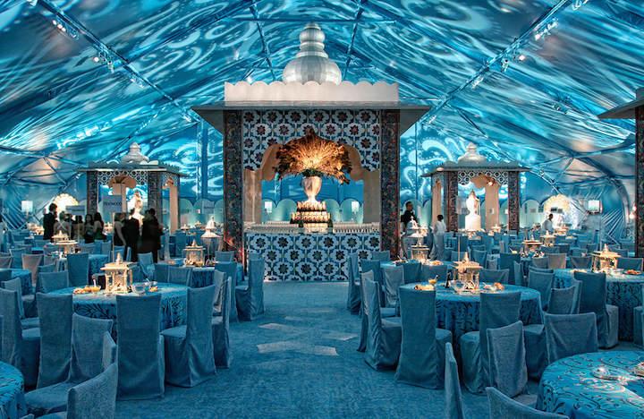 boda soñada de verano color turquesa magia