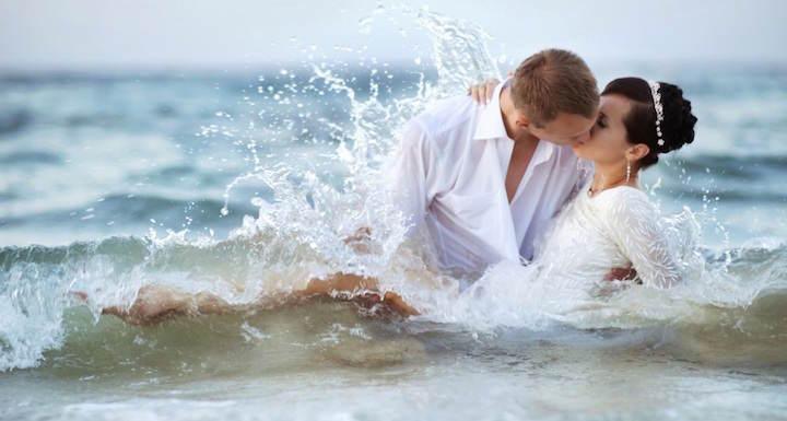bodas en la playa pasión ardiente amor
