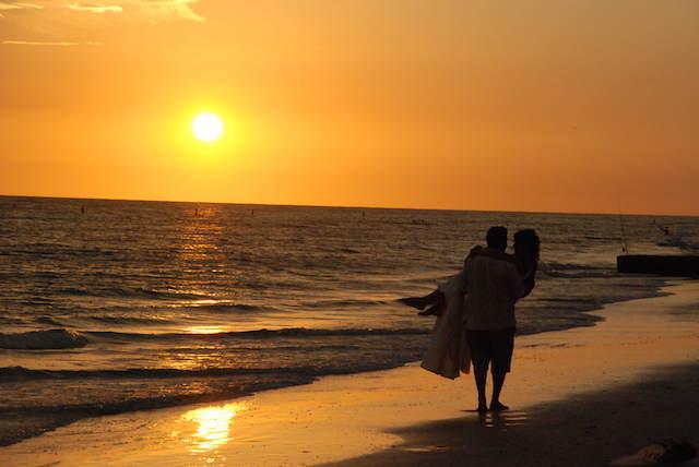 bodas en la playa romántica naturaleza
