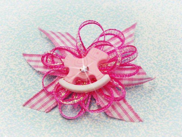 caballo de juguete distintivos para baby shower niña