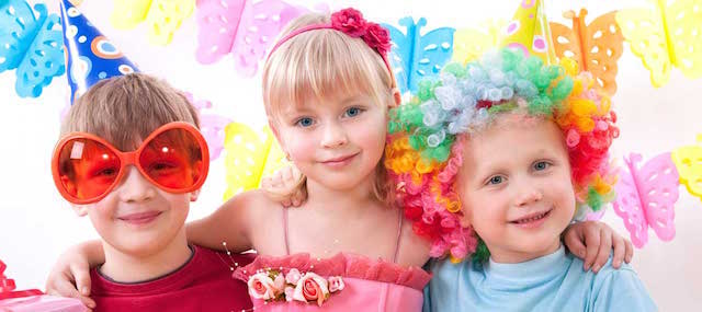 celebración cumpleaños infantiles decoración pintada viva