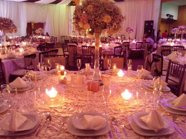 centro mesa arreglos originales boda inolvidable decoración interesante