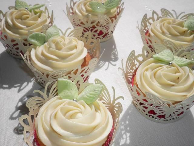 chocolate blanco decoración forma flor ideas fiesta temática