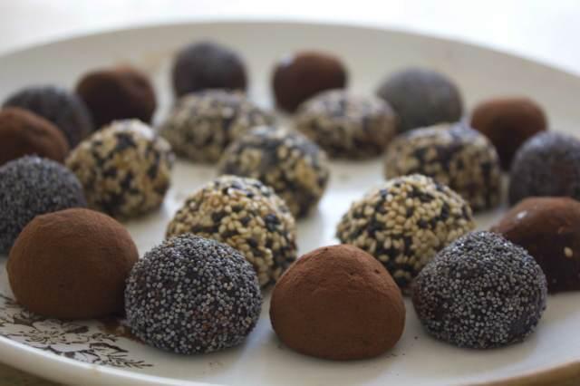 trufas de chocolate decoración diferente original ideas