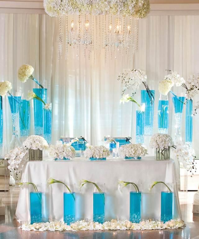 color azul boda inolvidable decoración original