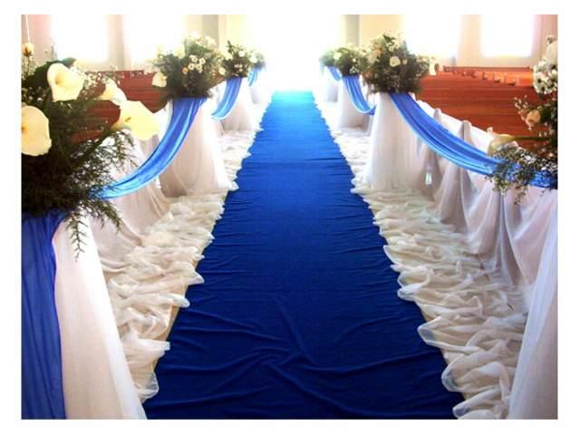 color azul decoración boda tendencias nuevas