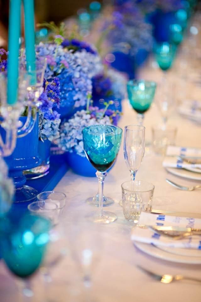 color azul decoración magnífica ideas originales