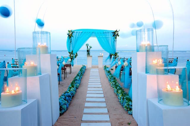 color azul estar moda 2015 bodas en la playa