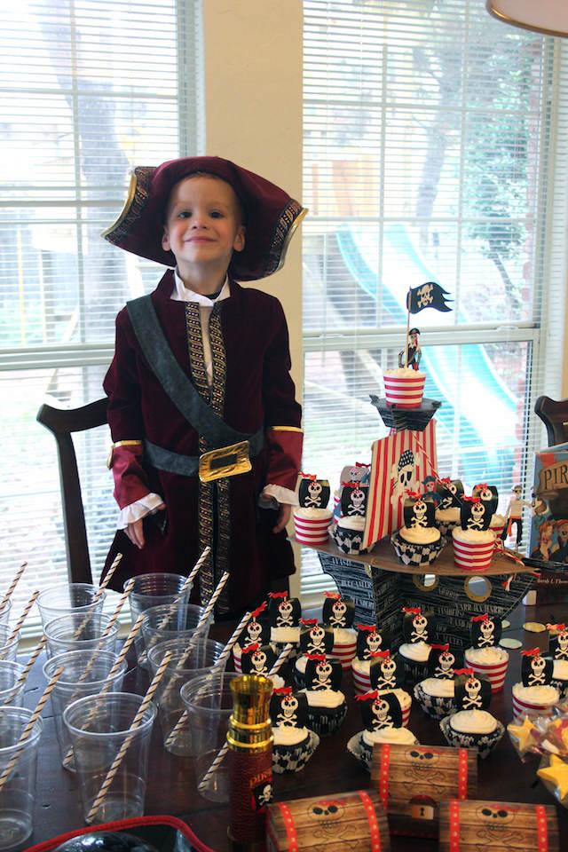 cumpleaños infantiles temáticos decoración pirata