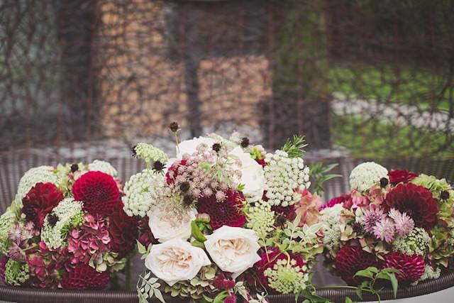 decoración boda combinación vintage color 2015