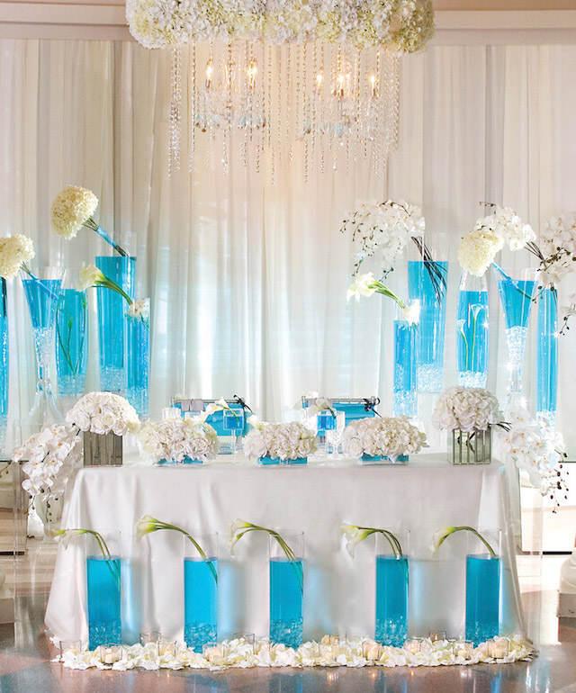 boda en color turquesa: un sueño de verano