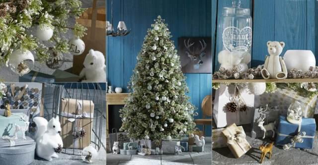 decoración de árboles de Navidad ideas maravillosas colores temáticos