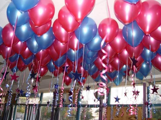 decoración fiestas arreglos globos ideas