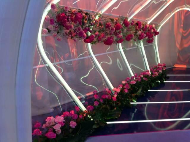 decoración magnífica flores bonitas ideas originales diferentes
