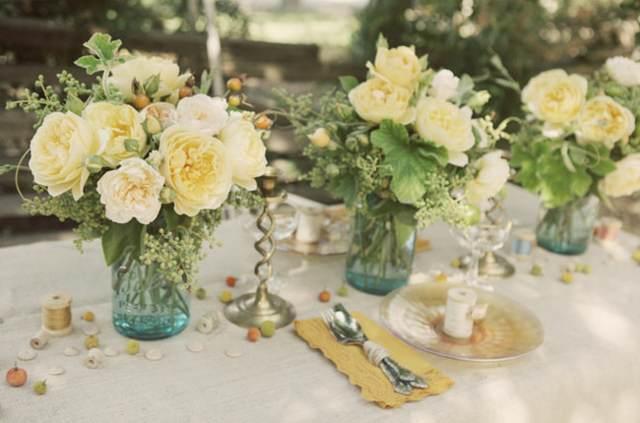 decoración flores originales ideas interesantes