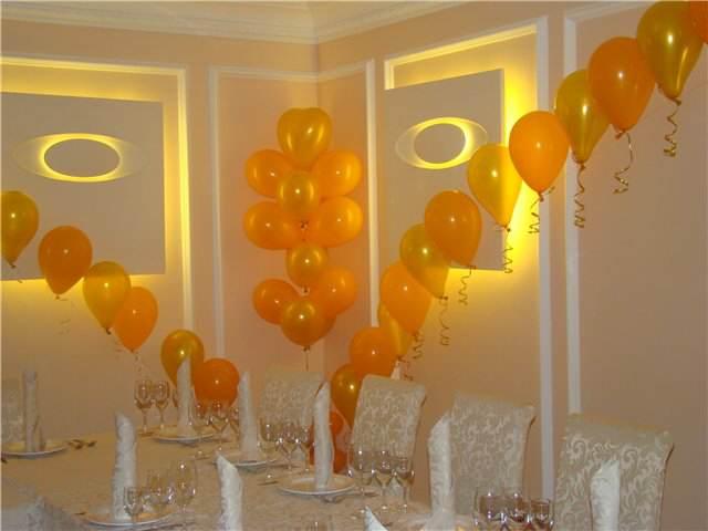 decoración sencilla globos eventos temáticos ideas
