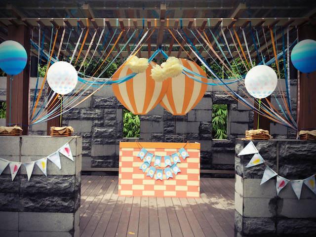 decoración para cumpleaños magníficos globos de aire