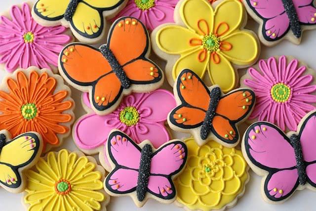 decoración preciosa galletas cumpleaños infantiles niña