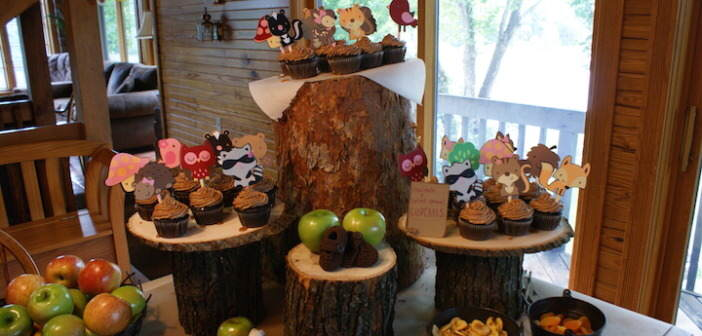decoracion-tema-bosque-centros-demesa-para-baby-shower