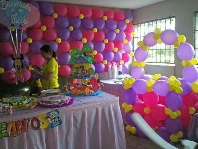 decoraciones globos fiestas infantiles ideas interesantes