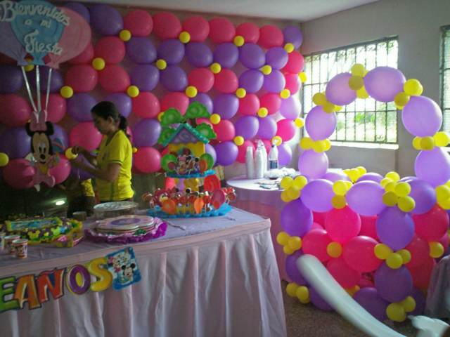globos fiestas infantiles ideas