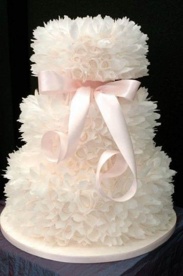 diferente decoración de pasteles boda
