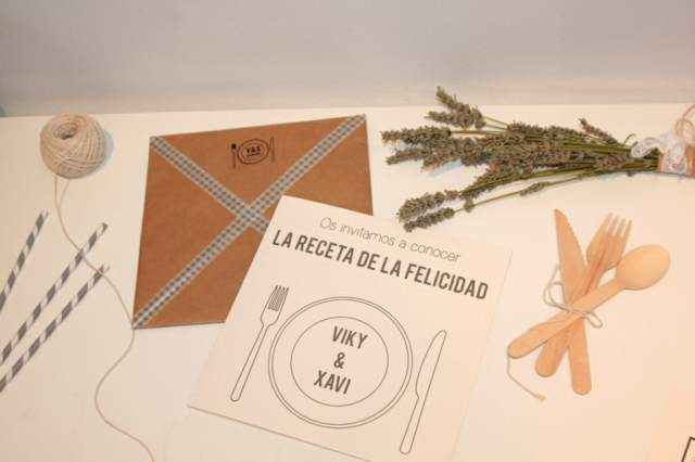 diseño original invitaciones boda memorable