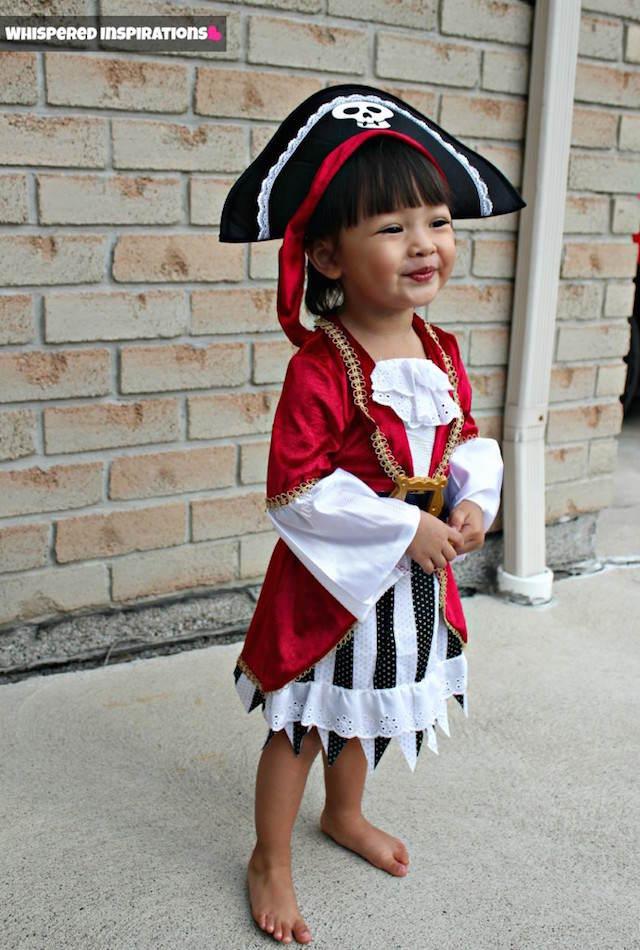disfraz de pirata muchacha preciosa