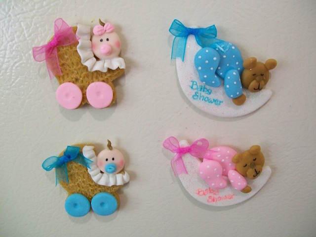 distintivos para baby shower variedades para niño niña