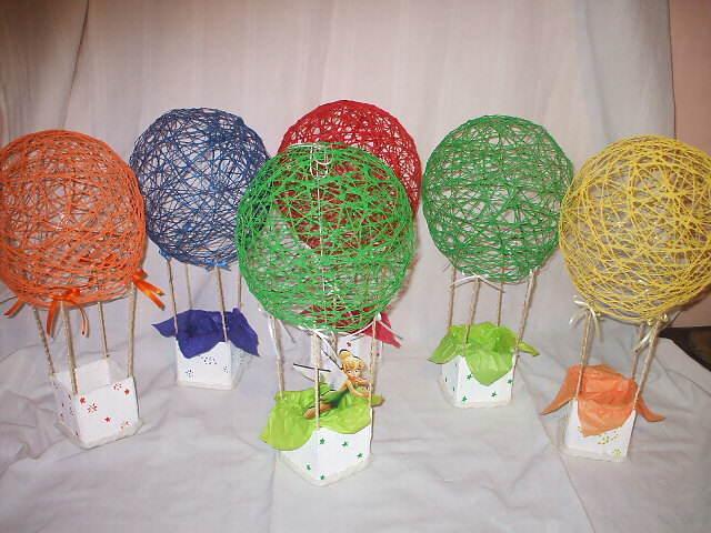 dulceros para fiestas infantiles elegantes forma globo