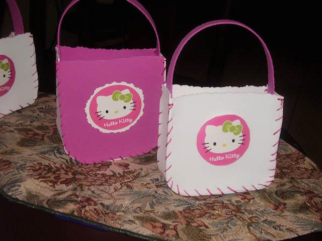 dulceros para fiestas infantiles niña hello kitty