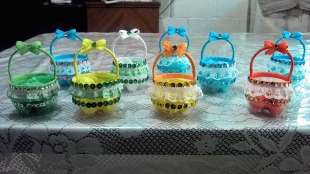 dulceros para fiestas infantiles pintados chica