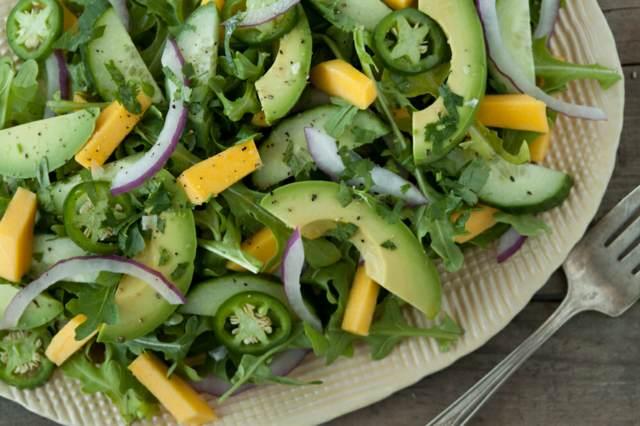 ensaladas fáciles aguacates perfecta verano idea saludable